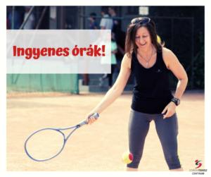 Ingyenes teniszoktatás